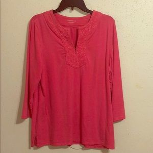 Pink Women's Casual Top